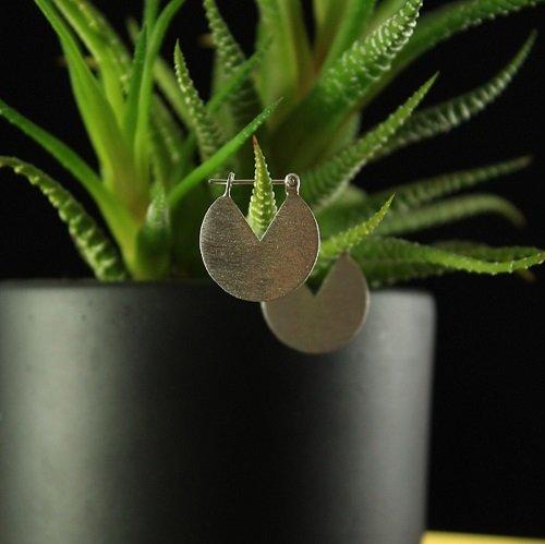 light silver ohrringe silber