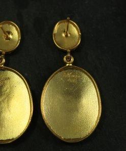 ohrringe gold handmade