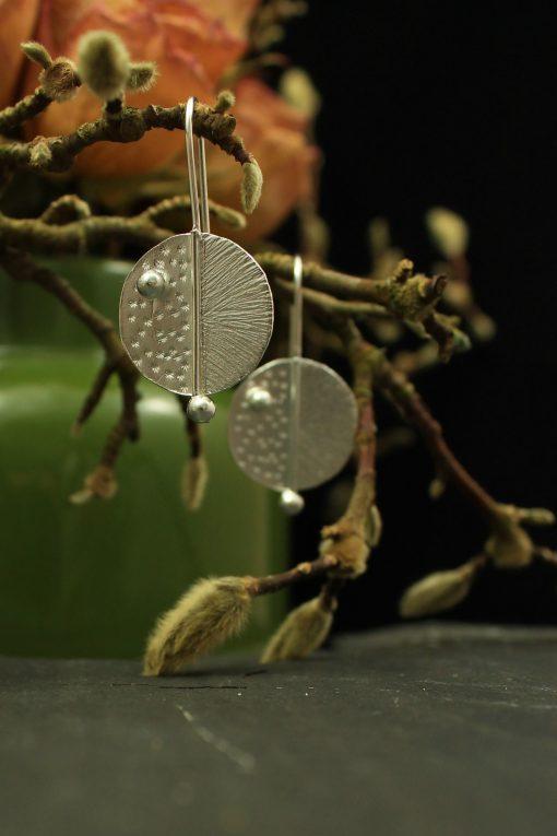 ohrringe silber handmade