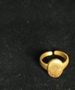 ring gold handmade