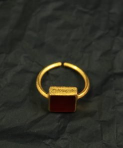 ring silber achat