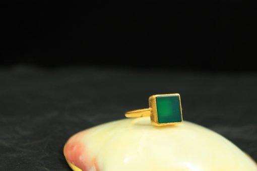 ring silber edelstein