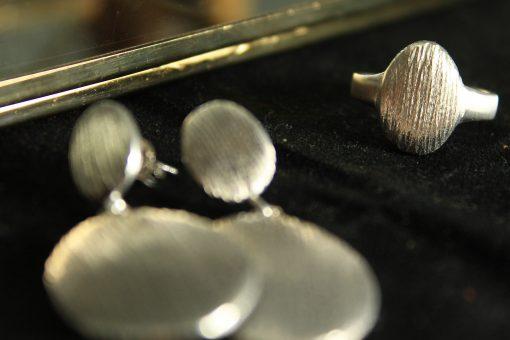 set handmade silber