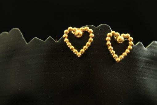 silber gold ohrringe