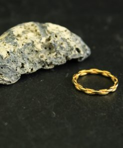 strukturierter ring