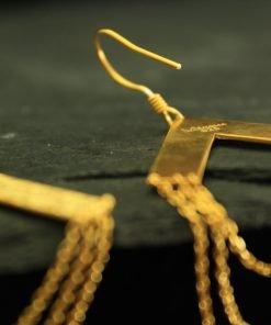 vergoldetes silber ohrringe